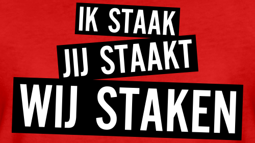 Estafette staking 13 april